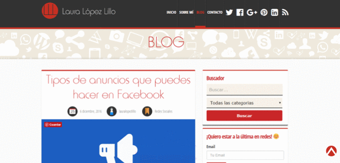 Blog Laura López Lillo;