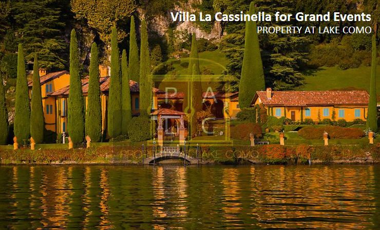 Villa La Cassinella – Perfect Place in #LakeComo Region to Host Your Special Event