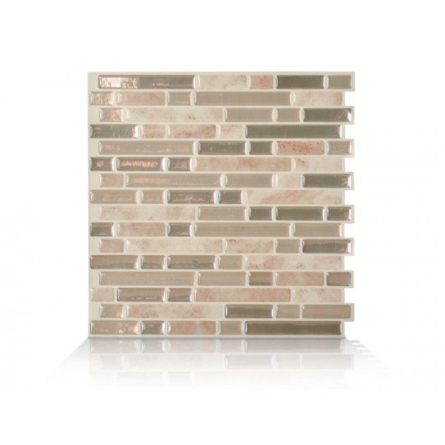bellagio sabbia peel and stick tile backsplash online shop smart tiles bathrooms. Black Bedroom Furniture Sets. Home Design Ideas
