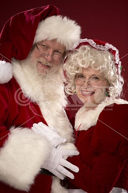 Santa Claus with Mrs.Claus