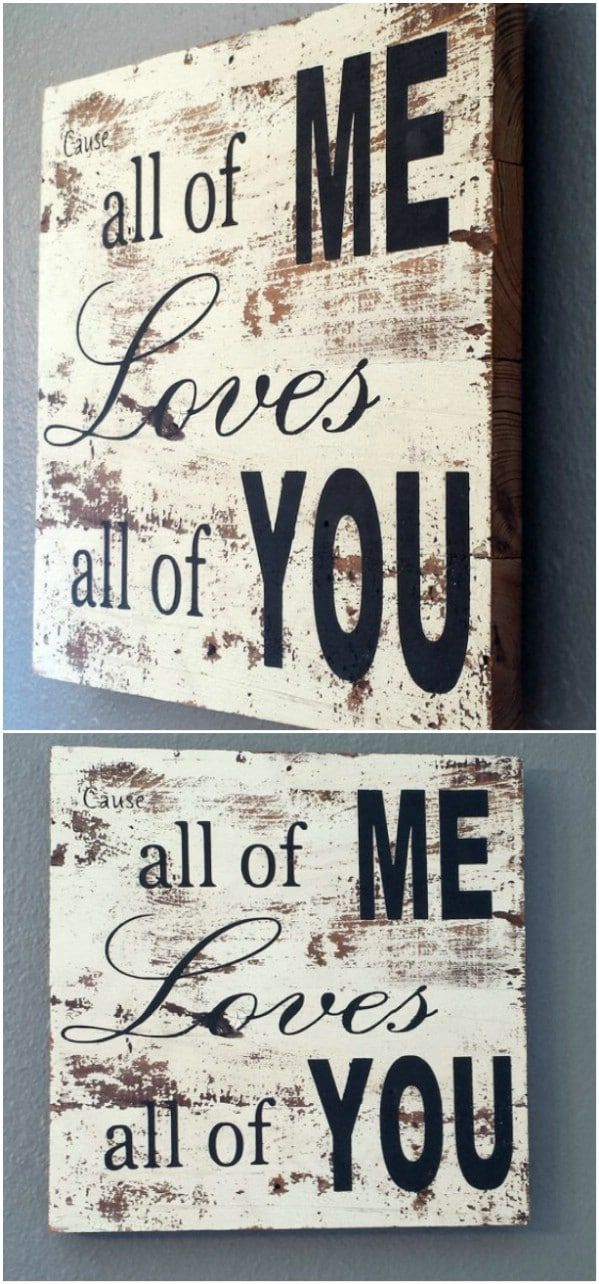 50 Wood Signs That Will Add Rustic Charm To Your Home Decor #woodsigns