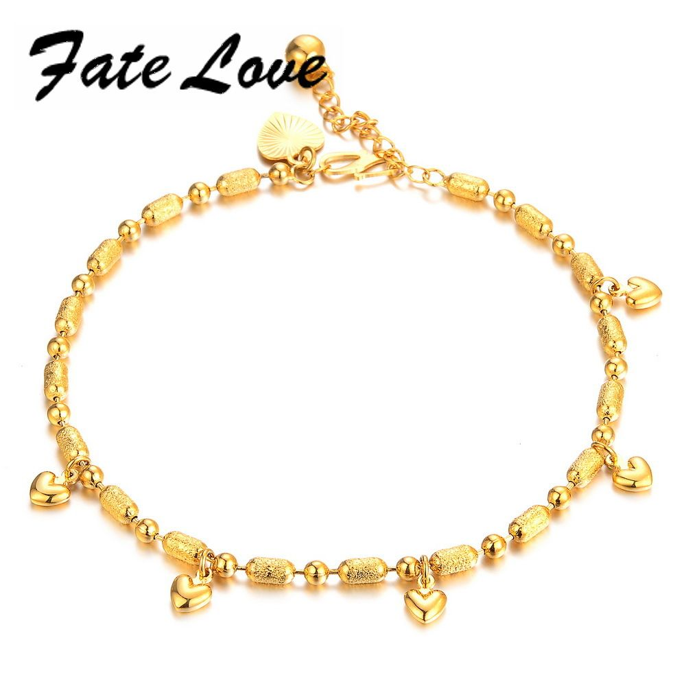 Click to Buy ucuc Fate Love Classic Charm New Design Gold Color Women