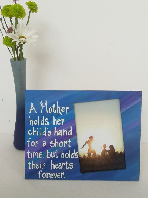 Mom Picture frame. Picture frame with quote about Mom. photo frame ...