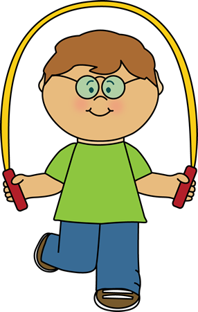 Kid Playing With A Jump Rope Clip Art Kid Playing With A Jump Rope Image Kids Clipart Clip Art Kids Playing