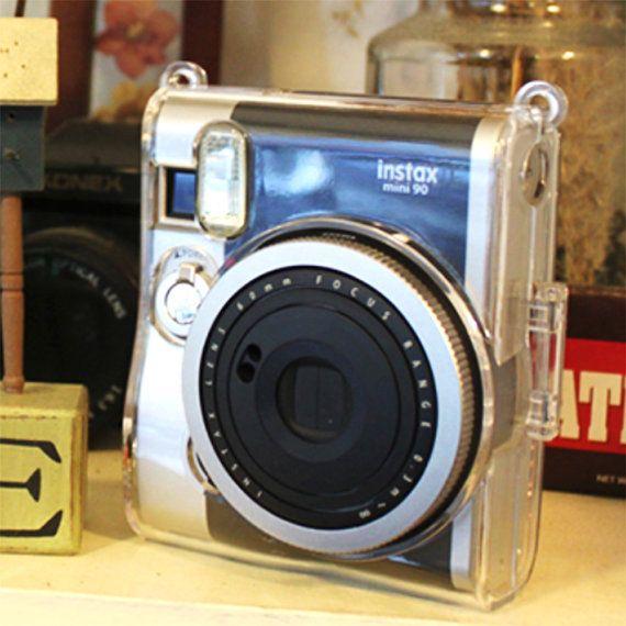 Fujifilm Instax Mini 90 Camera Case Crystal Clear Transparent Protection Instax Instax Mini 90 Fujifilm Instax Mini
