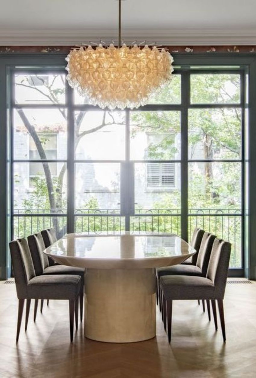 Exquisite Dining Rooms With A Modern Lighting Design Dining Room