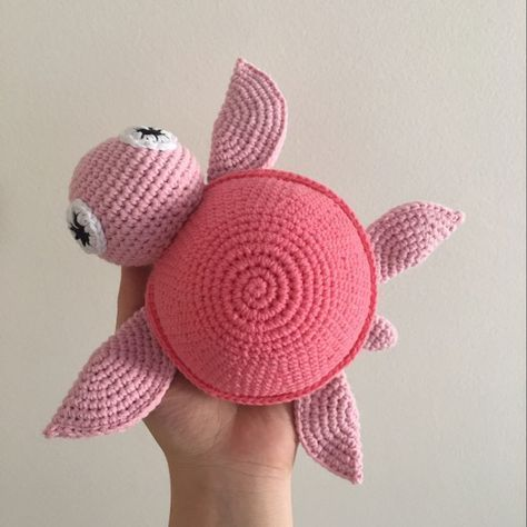 DIY – Instructions for Crocheted Turtle Amigurumi Free Pattern Tutorial – YARN OF CROCHET #crochetturtles
