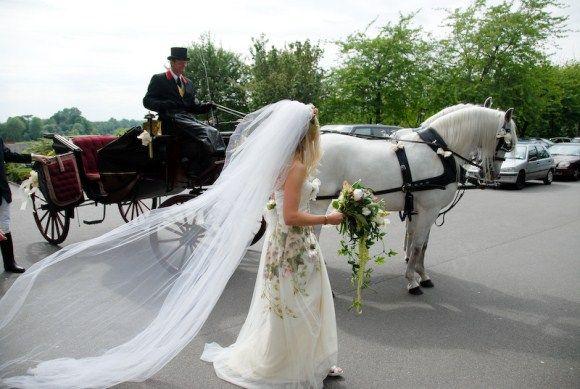 An English Country Garden Wedding for an English Country Gardener...