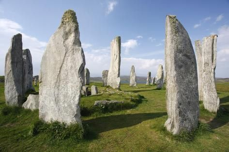 Photographic Print: Callanish Stones, Isle of Lewis, Outer Hebrides, Scotland, 2009 by Peter Thompson : 24x16in #outerhebrides Photographic Print: Callanish Stones, Isle of Lewis, Outer Hebrides, Scotland, 2009 by Peter Thompson : 24x16in #outerhebrides