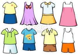 Summer Clothes Clipart For Kids