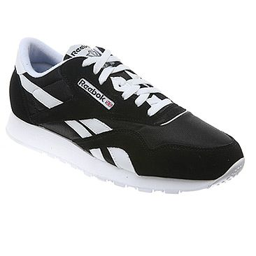 reebok black tennis shoes for men