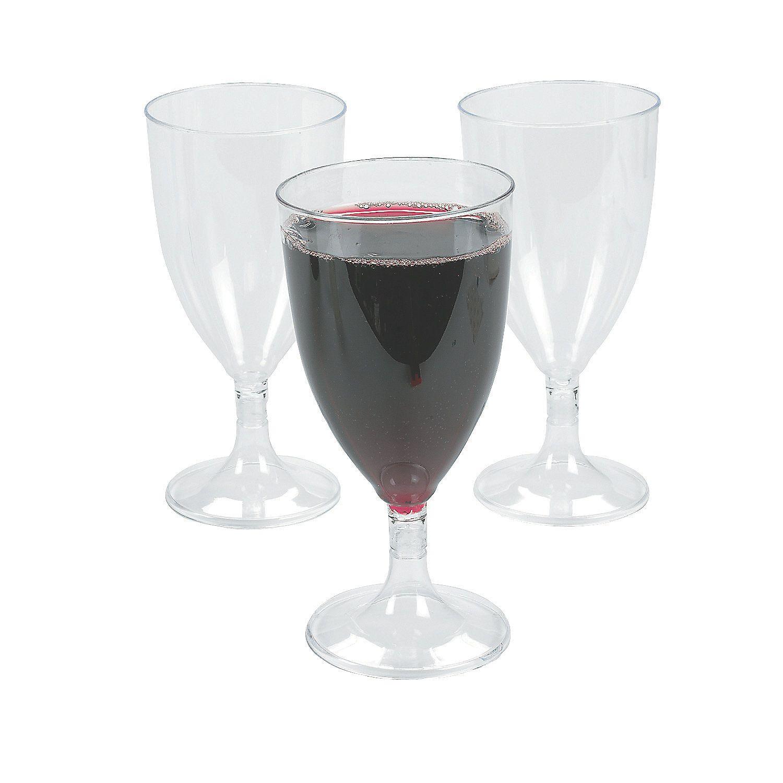 Fun Plastic Wine Gles Interior Design Decorating Ideas