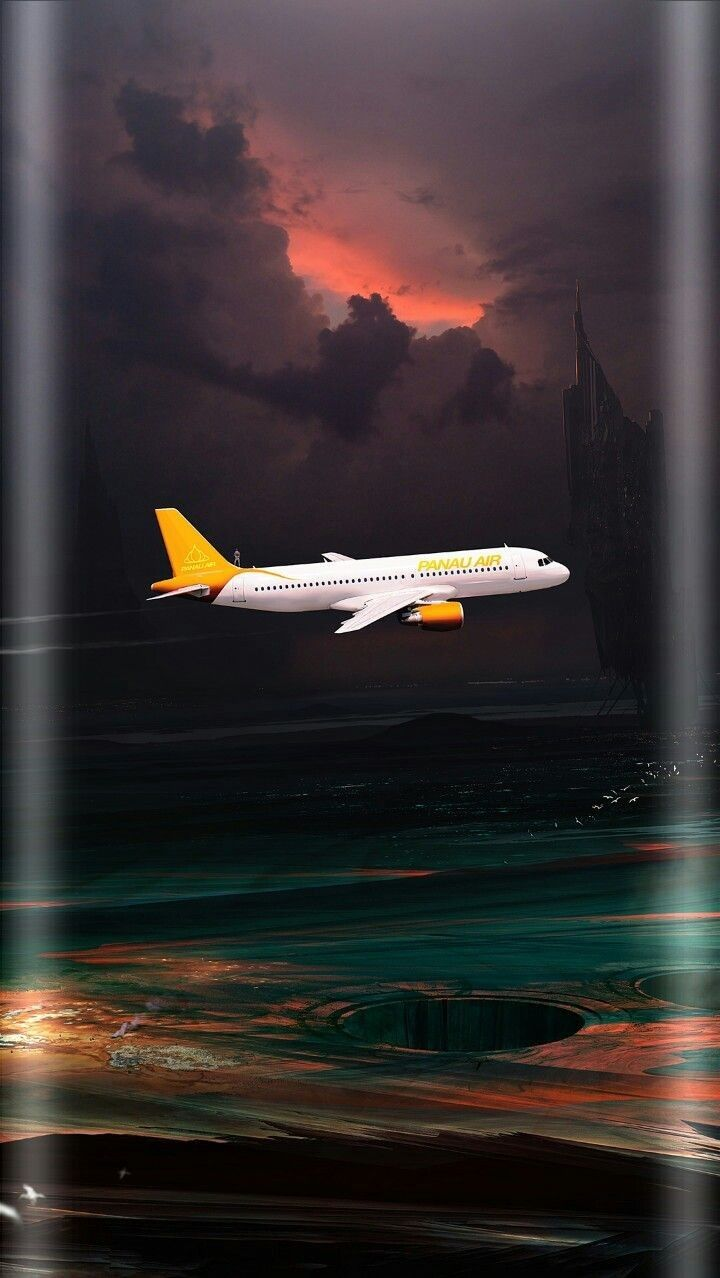 Airplane S8 Wallpaper Android Wallpaper Painting Wallpaper