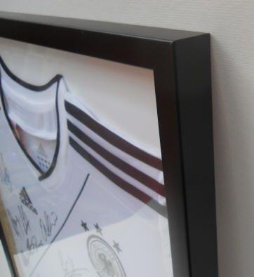Sports Shirt Frames | Display frames for football shirts | Self Fit ...