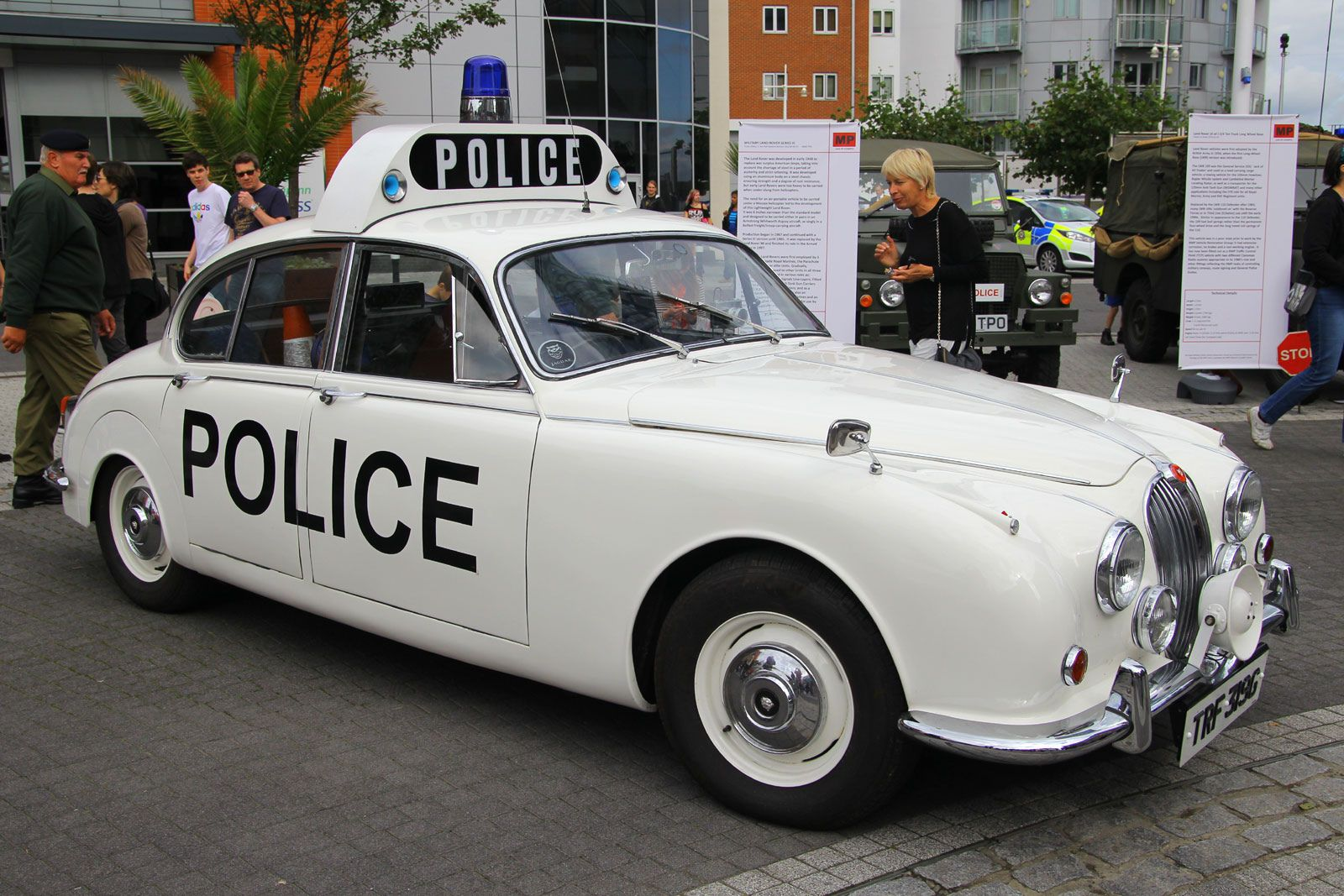 TRF 319G, Policing Through The Ages, Portsmouth, October