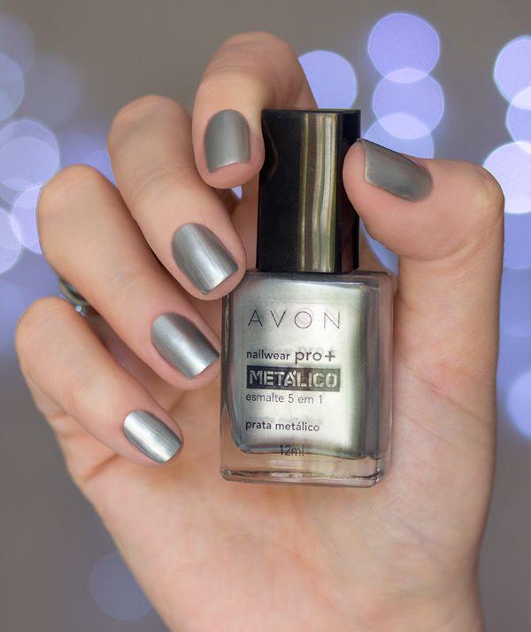 Swatches: Metálicos Avon Nailwear pro | Esmalte, Avon y Uñas elegantes