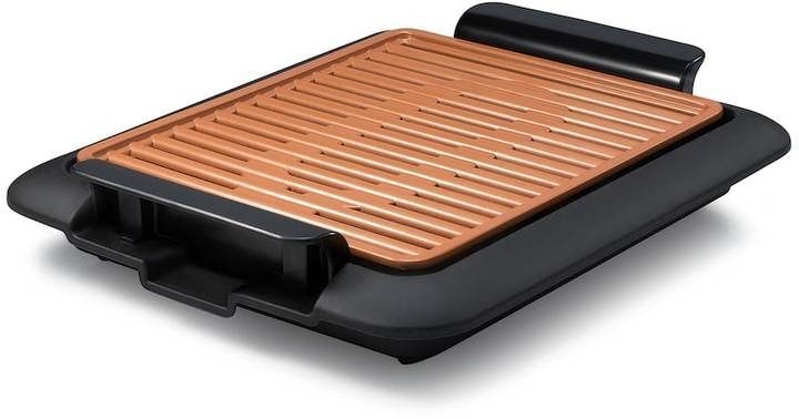 Gotham Steel Smokeless Indoor Grill Griddle 2 in 1 Combo As Seen on TV Brand New
