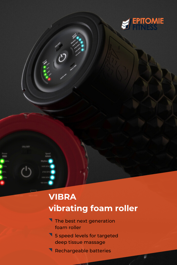 The VIBRA vibrating foam roller is the best next generation vibrating foam roller. Give yourself the...