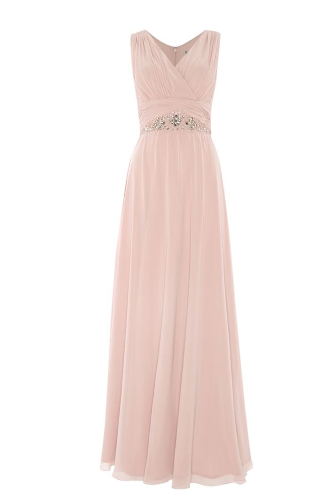 Dusty pink dress | damas de honor | Pinterest | Damitas de honor ...