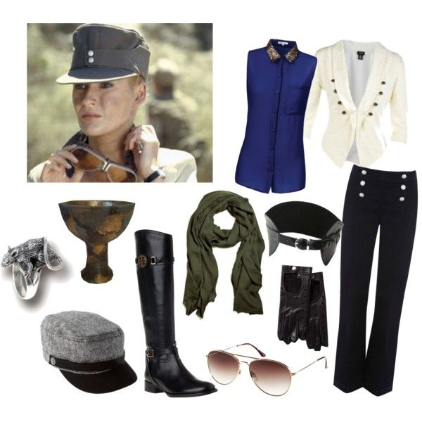 Dr. Elsa Schneider - Indiana Jones by wind-and-willows on Polyvore  featuring · Halloween 20161940sCostume ...