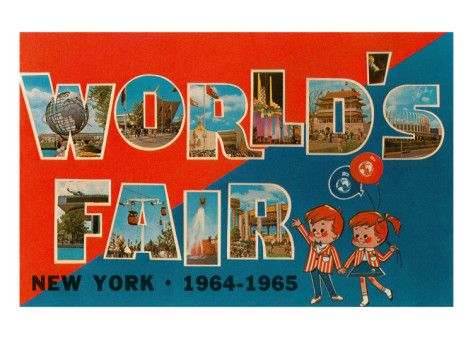 New York World's Fair, 1964-1965 Premium Poster
