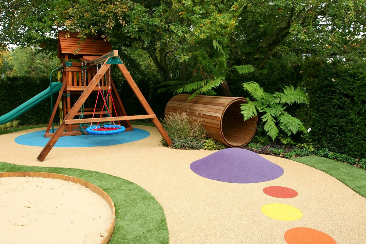 Garden Play Area For Children