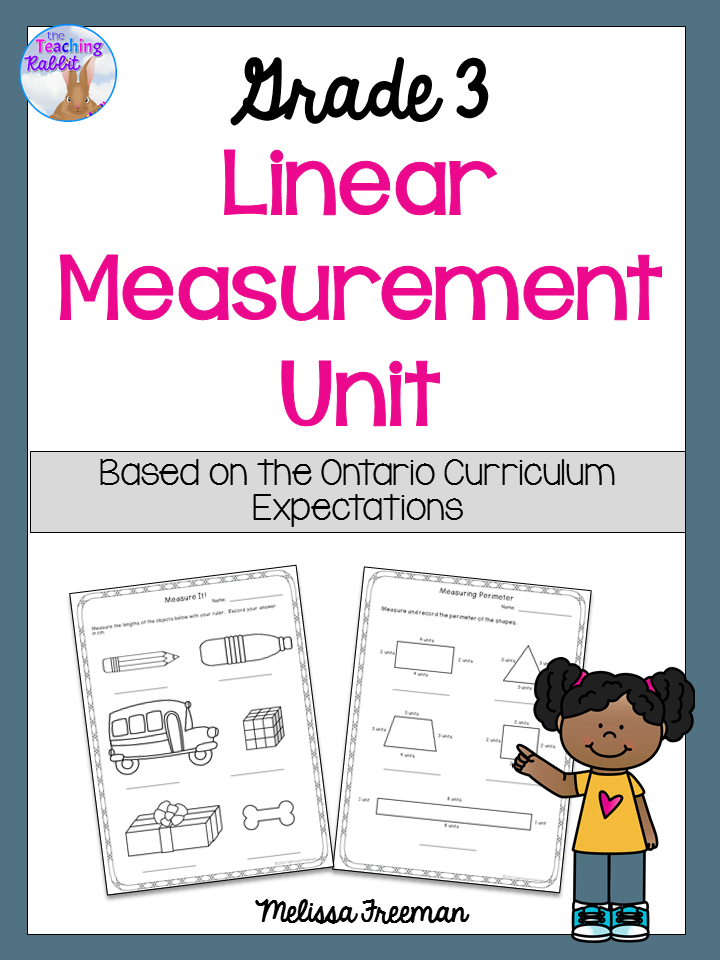 Linear Measurement Unit for Grade 3 (Ontario Curriculum