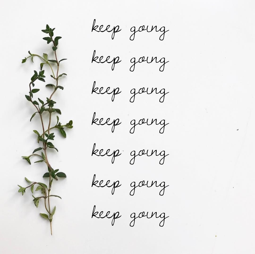 Little Reminder And Thyme Keepgoing