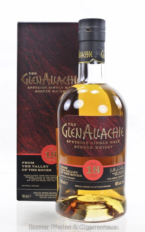 The GlenAllachie Whisky 18 Y.o. Region : Speyside 46% Alc