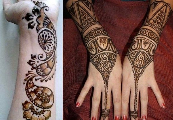 Mehndi In Hands : Simple and easy arabic mehndi designs for hands beauty tips