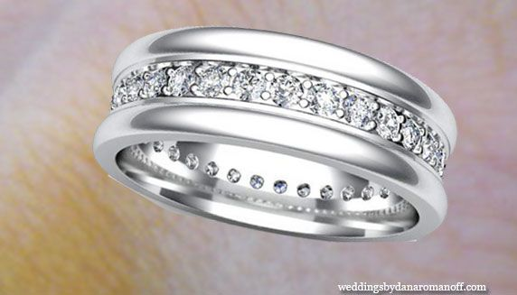Wedding Bands For Men White Gold That Must Be Comfort Fit Love