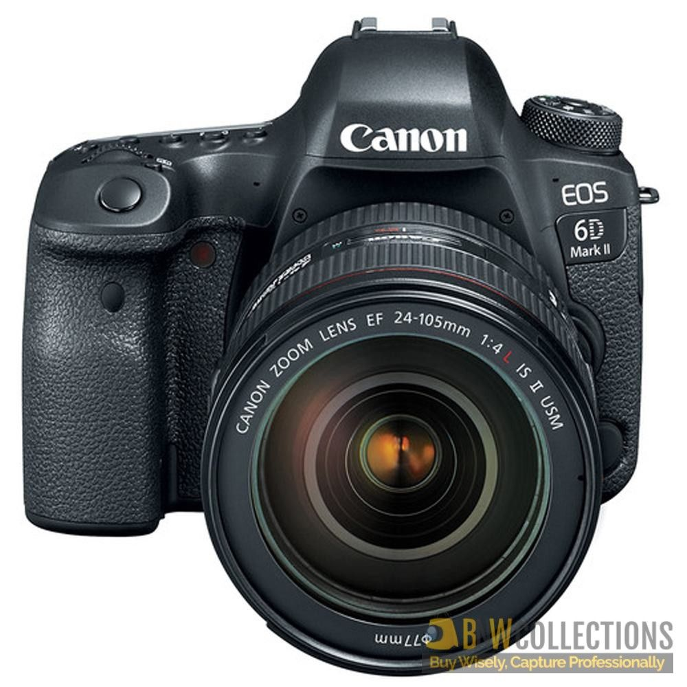 Buy Canon EOS 6D Mark II DSLR Camera with 24-105mm f/4 Lens At Rs ...