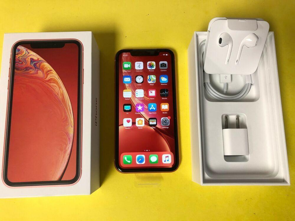 Apple Iphone Xr 128gb Coral Verizon Unlocked Smartphone New Open Box Iphone Apple Iphonex Apple Iphone Iphone Apple
