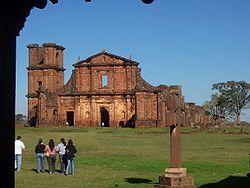 Ruinas Jesuíticas Paraguay Rio Grande Do Sul Jesuit