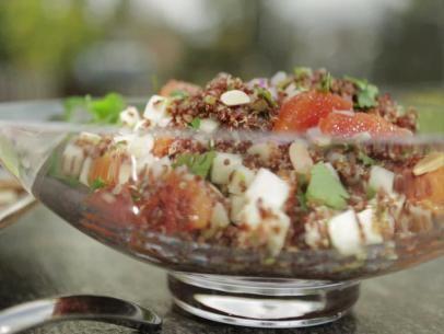 Red quinoa and citrus salad recipe quinoa salads and guy fieri forumfinder Image collections
