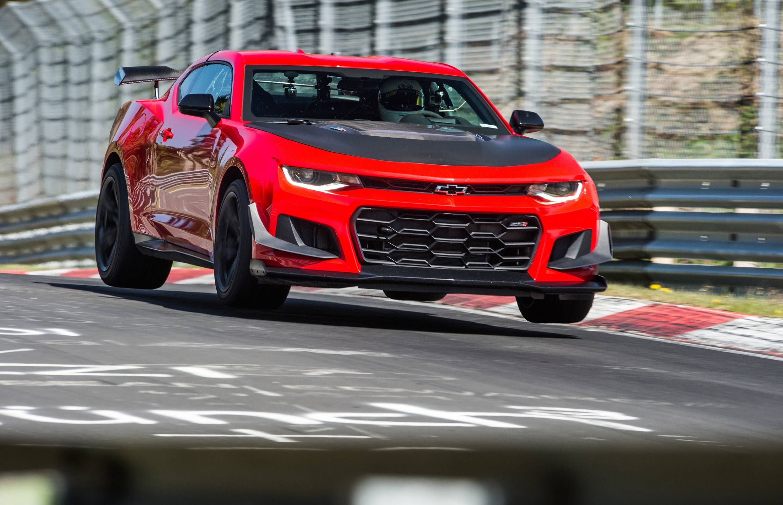2018 Chevrolet Camaro Zl1 1le Sets A Ridiculous Nurburgring Lap