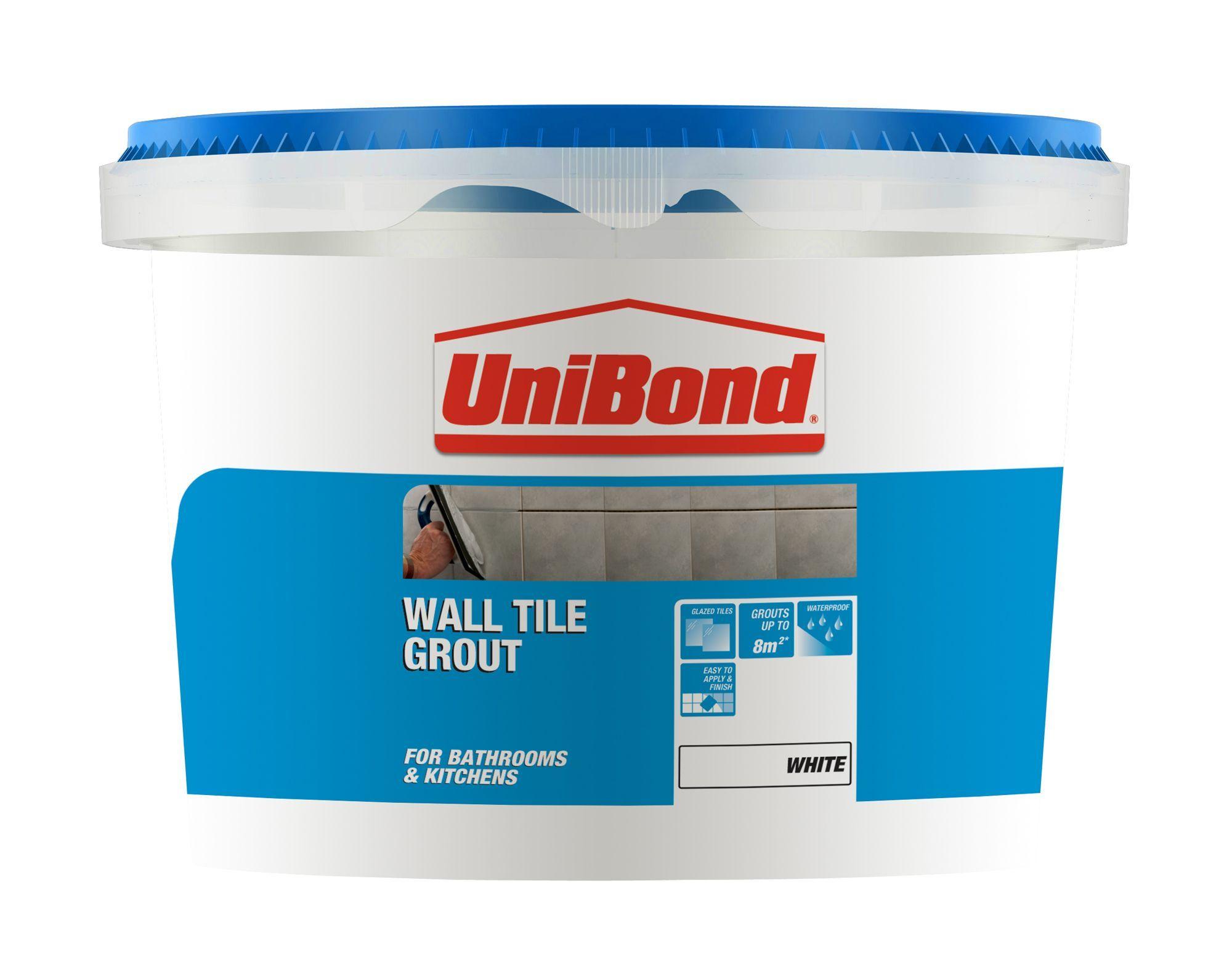 Unibond Brilliant White Ready Mixed Grout W 1 38kg