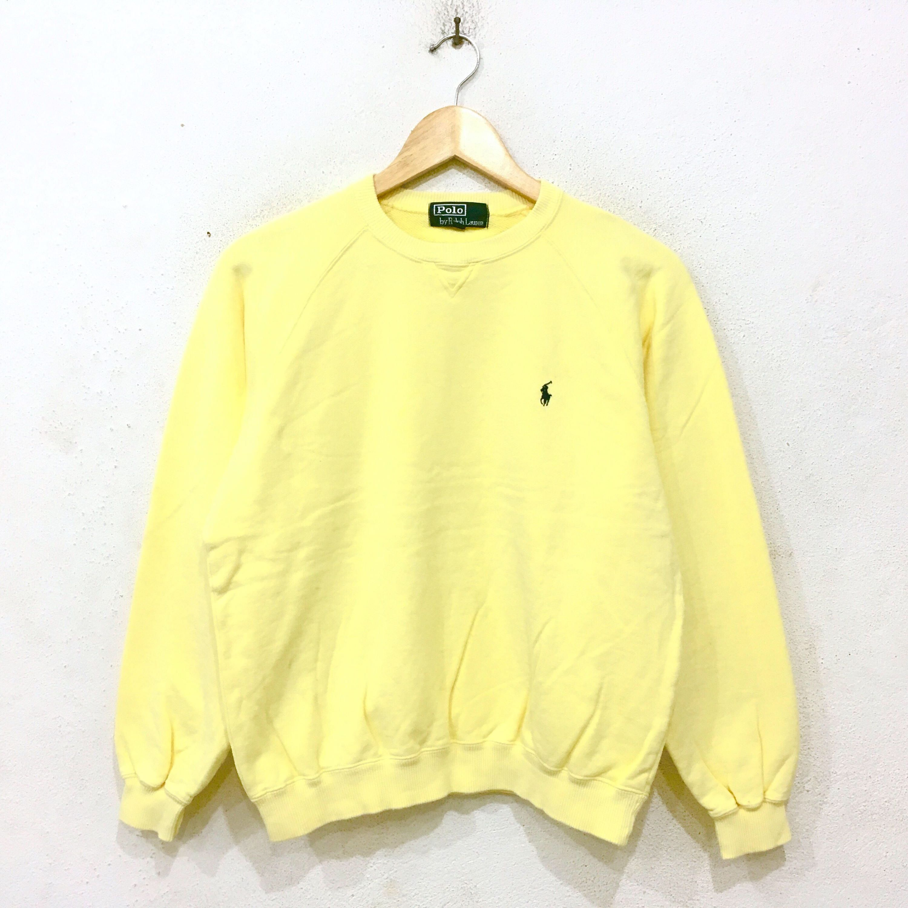 Large size Polo by Ralph Lauren small pony sweatshirt / jumper / polo sport / polo sweater hhUkt8GSHj