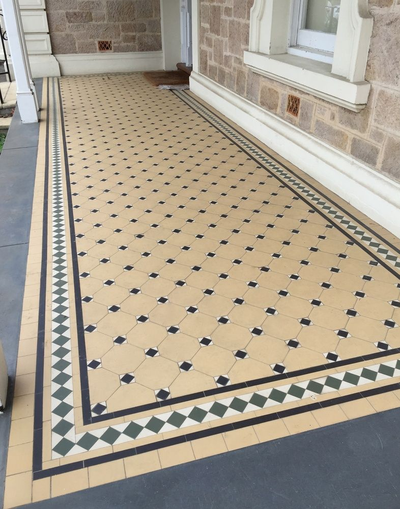 Verandah in North Adelaide (With images) Tiles, Kitchen