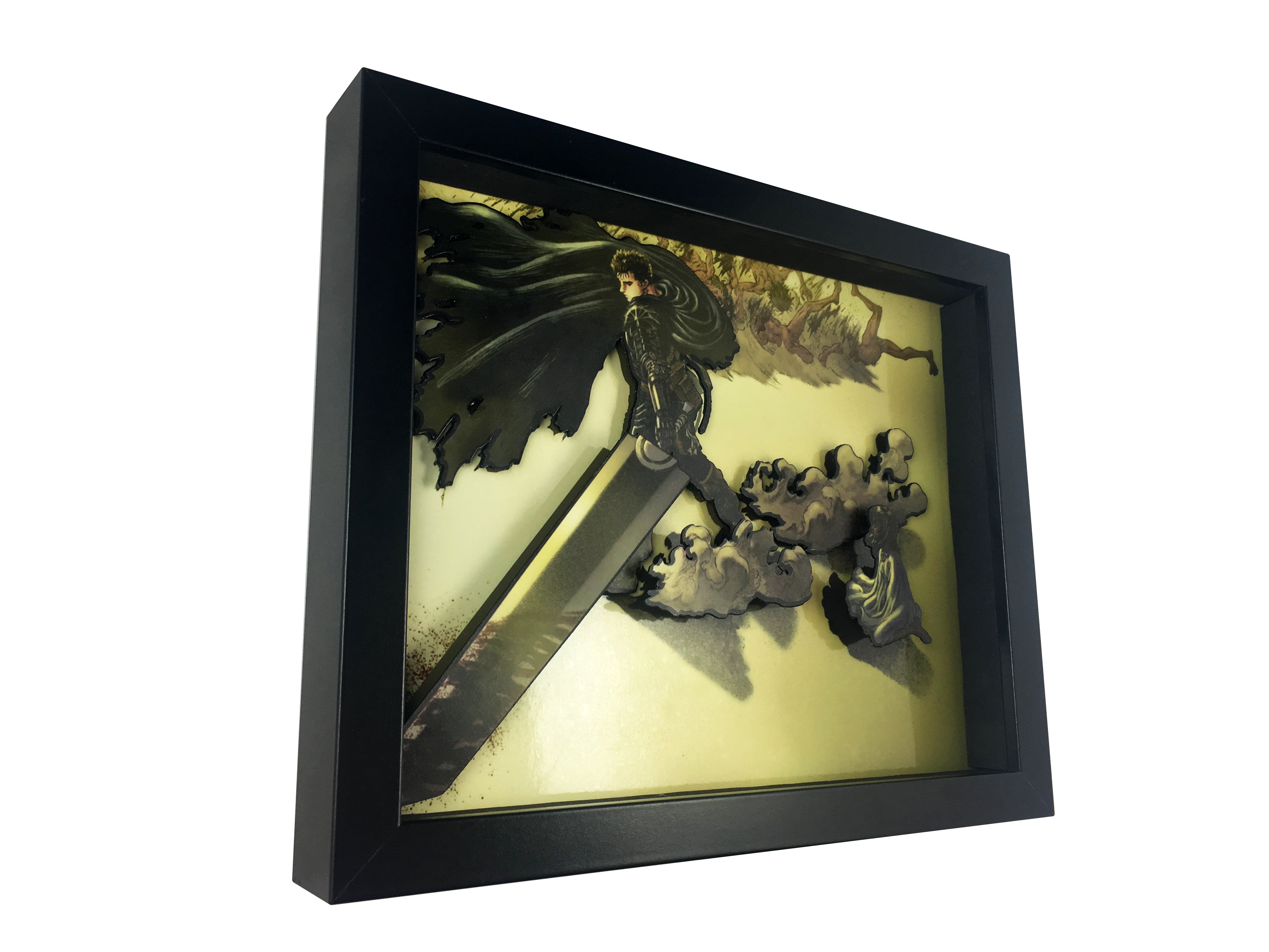 1.5 Deep Shadowbox Frame 13.5 x 40