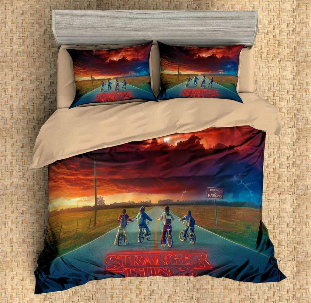 Game Of Thrones Bettwäsche 3d Customize Stranger Things Bedding Set Duvet Cover Set Bedroom