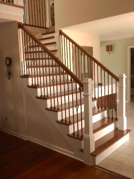 St Louis Stair Wood Works Build Remodel Material Advise Stairs Staircase Remodel New Staircase