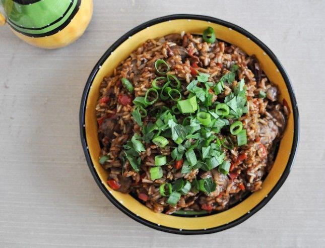 Mexican Mole Rice Mexican Hispanic Latin Salvadorian
