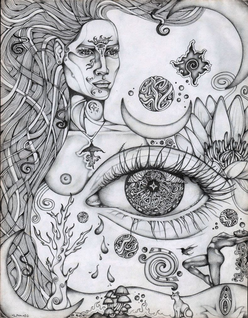 third eye rising by lauraborealisis on deviantart art for my