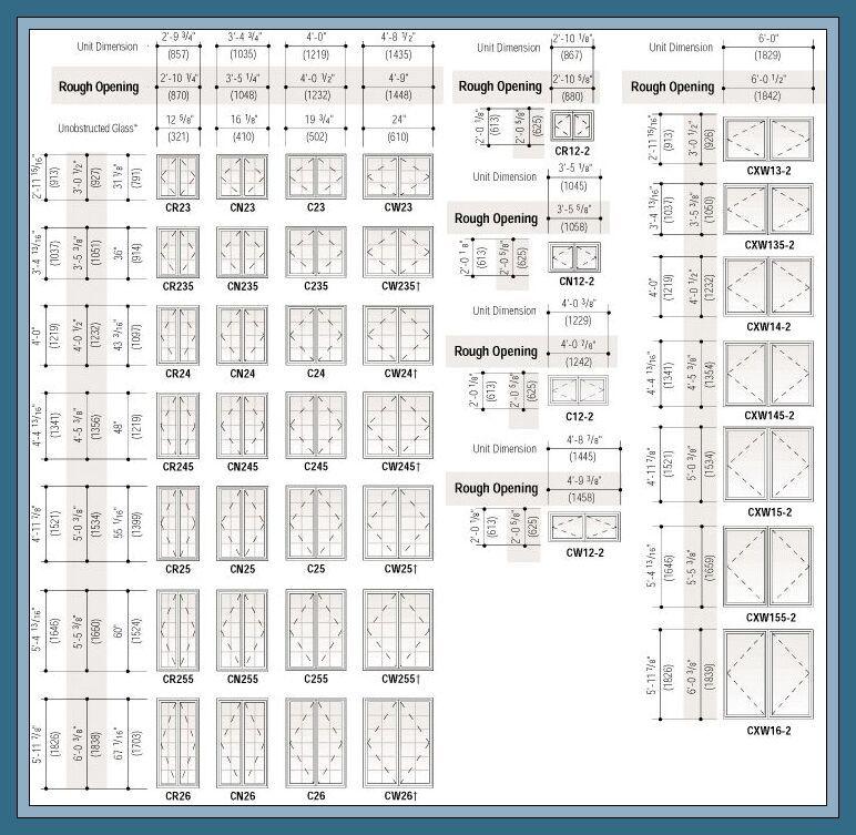 78 Reference Of Double Door Restaurant Standard In 2020 Standard Window Sizes Window Sizes Chart Window Sizes