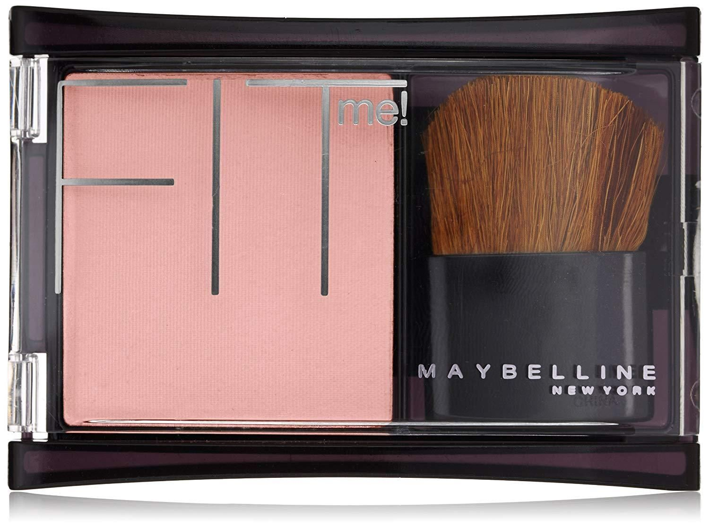 Maybelline New York Fit Me! Blush, Medium Mauve, 0.16 Oz
