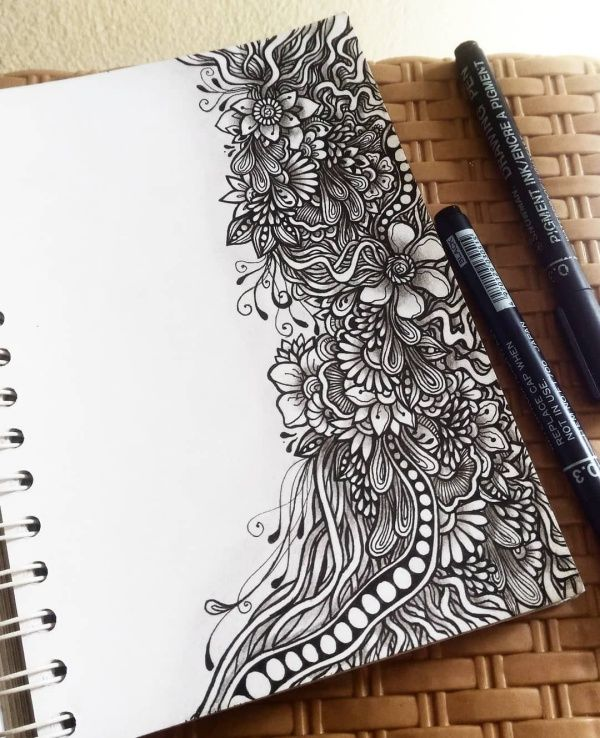 45 Cute And Easy Things To Draw When Bored In 2020 Doodle Art