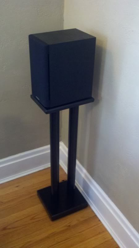 13 diy speaker stands ideas to produce more qualified voice diy speakers speakers and living. Black Bedroom Furniture Sets. Home Design Ideas