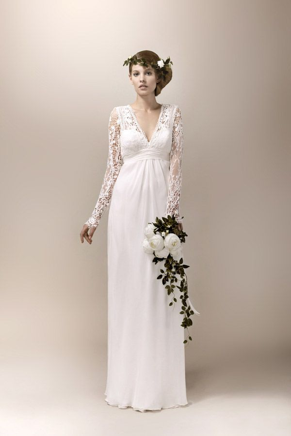 vestido de novia 1940