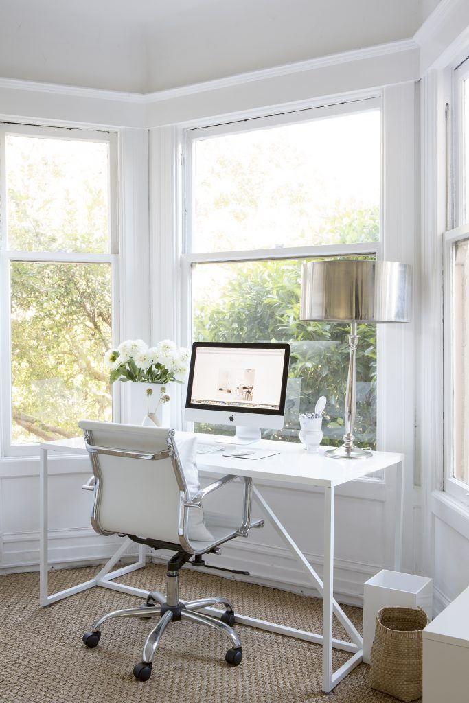 How to Seamlessly Incorporate an Office in a Small Space my house